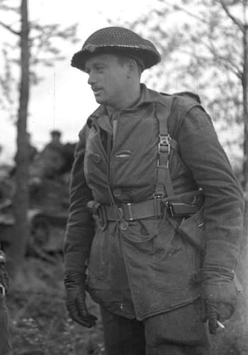 Canadian Army officer in Northwest Europe (Spring, 1945)