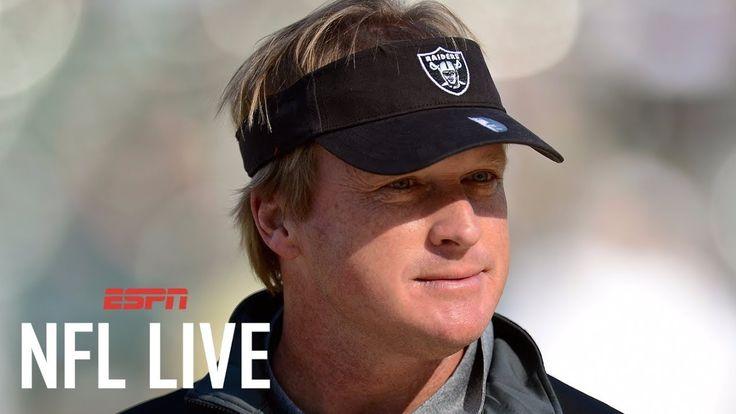 #latestnews#worldnews#news#currentnews#breakingnewsJon Gruden to be announced as Raiders Head Coach; Contract reports: 10 yrs $100M | NFL Live | ESPN