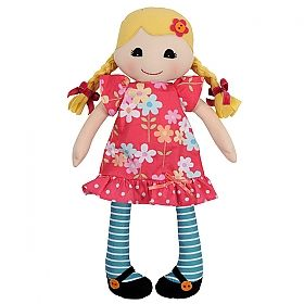 Unique and fun handcrafted rag dolls - a special gift for your special little one - toy - baby - kids - girls.