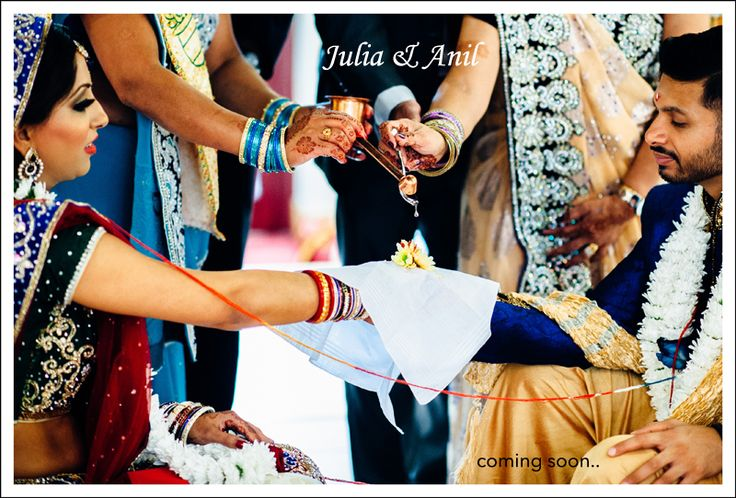 coming soon: Julia & Anil