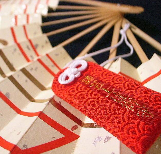 Omamori - Japanese lucky charm, talisman, or amulet. They can be obtained at the shrine in Japan.