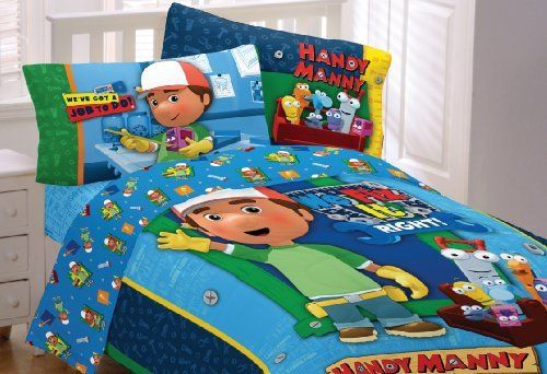 Handy Manny Bedding Twin