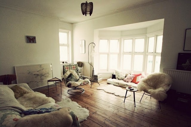 30 Best Chic Sheepskin Images On Pinterest Armchairs