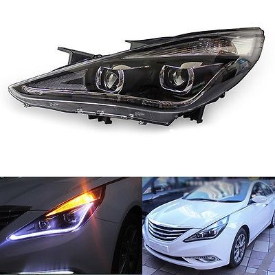 731.49$  Watch here - http://alicis.shopchina.info/go.php?t=32811779443 - Xenon Headlights For Hyundai Sonata 2012-2014 With LED DRL 731.49$ #magazine