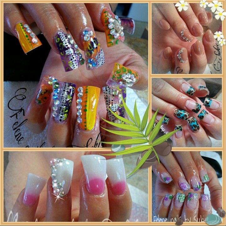 41 best Nails images on Pinterest | Long nails, Fingernail designs ...