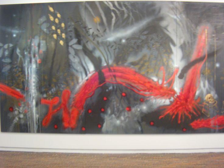 Sus trabajos más recientes hablan acerca de símbolos que aparecen de forma disimulada en sus primeras obras.