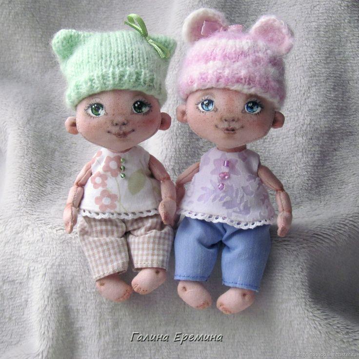 Купить Текстильная малышка в интернет магазине на Ярмарке Мастеров
