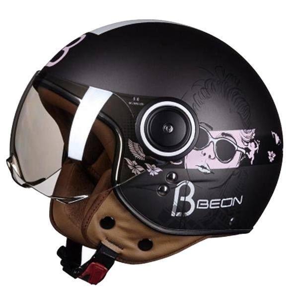 Ece-R22/05 Approved Motorcycle Half Helmet For Women