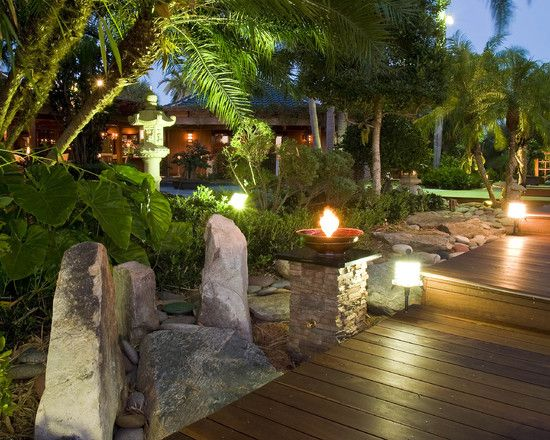 1000  ideas about tropical backyard landscaping on