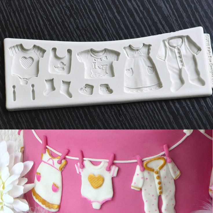 Baby Shower Cake Decoration Molds : 27 best new fondant silicone mold images on Pinterest ...