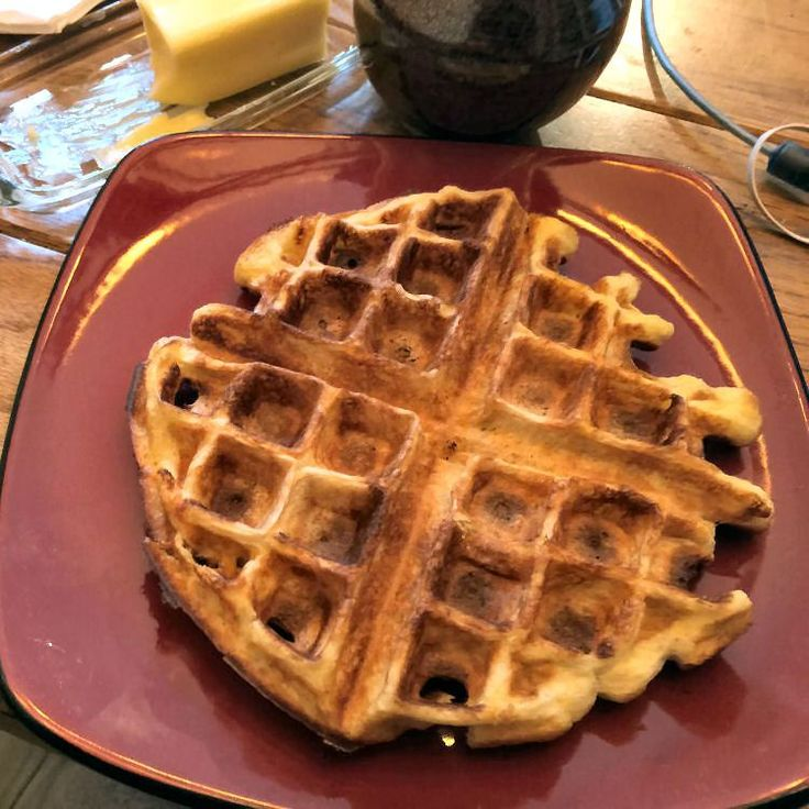 Carl's Low-Carb Belgian Waffles - Powered by @ultimaterecipe
