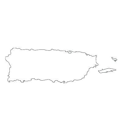 Puerto Rico | We Heart It | outline, puerto rico, and la isla