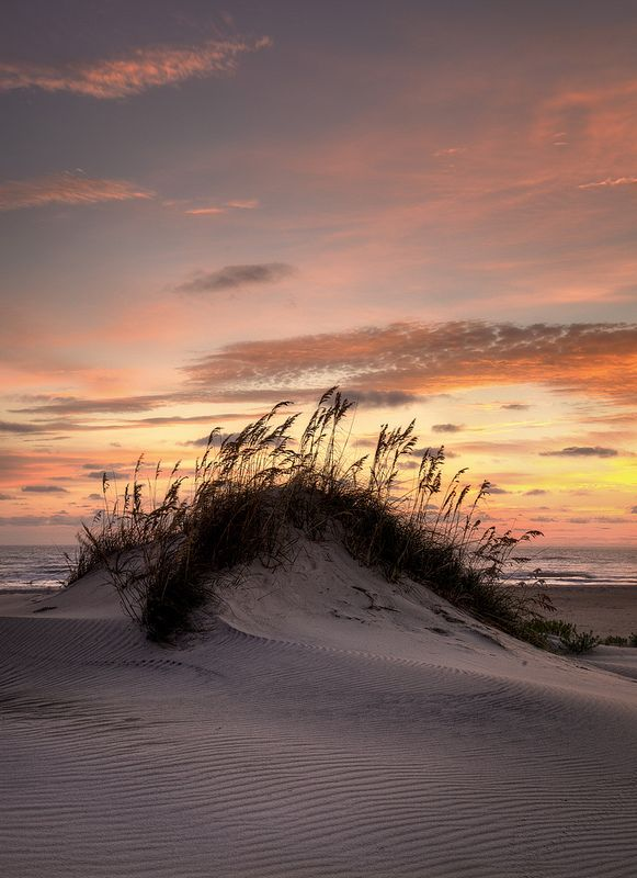 to the beach - Dune Sunrise - The Outer Banks Of North Carolina