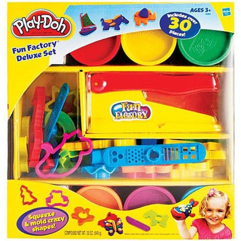 Play-Doh Fun Factory Deluxe 30 Piece Set