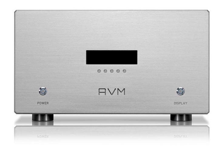 The AVM Ovation MA8.2 mono power amps...stunning quality sound reproduction.