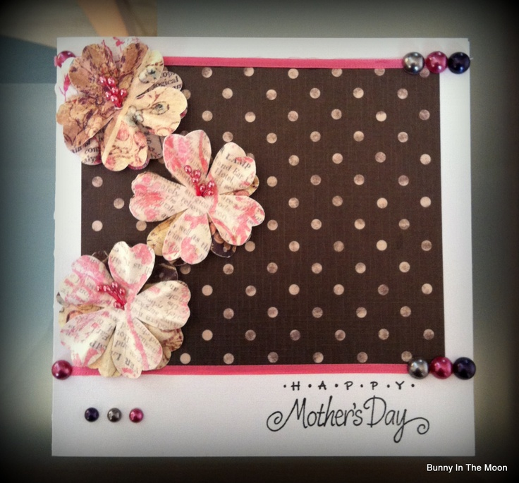 Mother's Day Card: Scrappy Cards, Craft, Mother'S Day, Mothers Day Cards