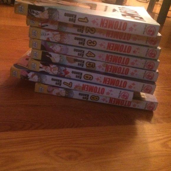 Otomen manga books 1-8 Otomen manga books 1-8 lightly used Barns and noble  Other