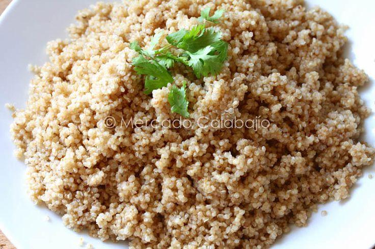 Cómo cocer la quinoa para que quede perfecta