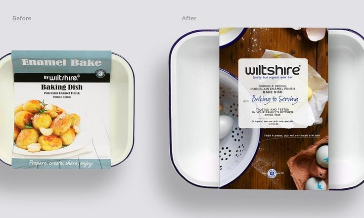 New Brand Identity for Wiltshire Packaging for over 400 products #iconika #beforeAfter