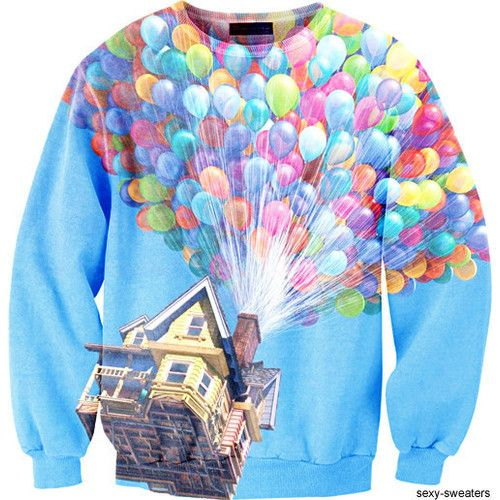 i would wear this every single day of my life.Sexy Sweaters, Fashion, Style, Clothing, Sweatshirts, Things, Disney Up, Dreams Closets, Disney Movie