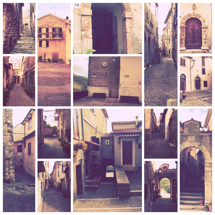 #Collepardo (centro storico)!!