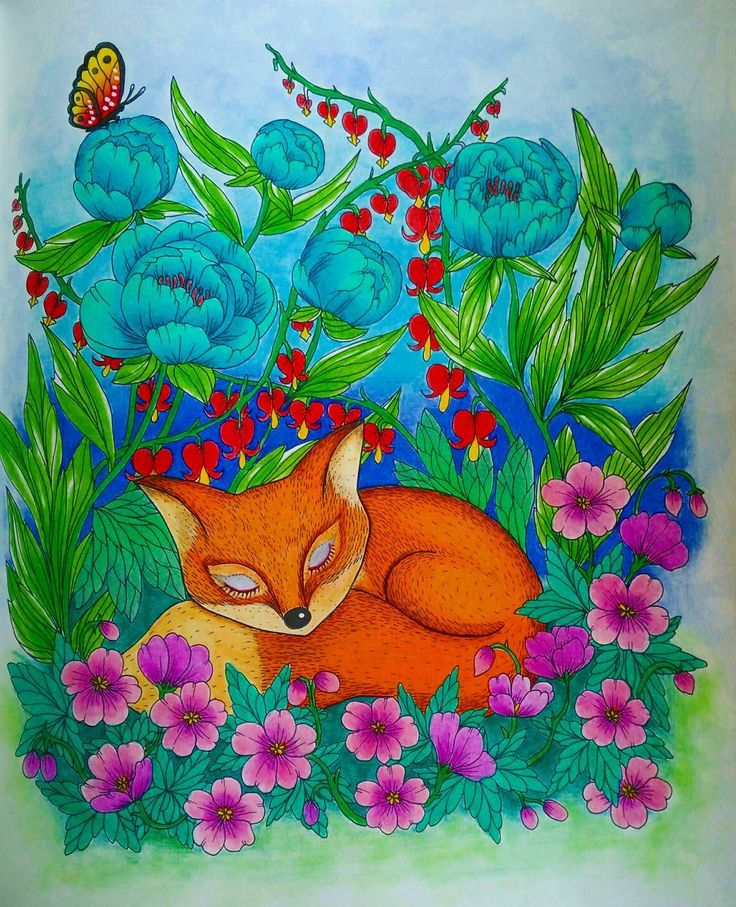 Blomstermandala Blomstermandalamalarbok Twilightgarden