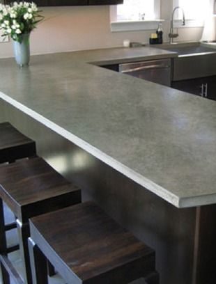 Concrete Kitchen Countertops 101 love it for new house!