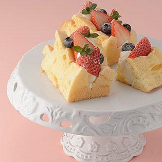 アルミシフォンケーキ型(アルマイト加工) / 20cm×1個 | 洋菓子・パンの型,シフォン・ロールケーキ型,シフォン型 | TOMIZ 富澤商店