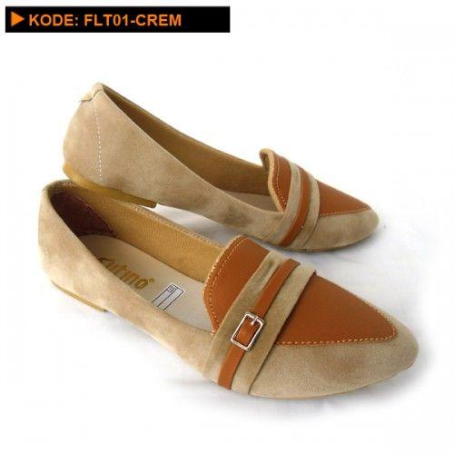 Sepatu flat elegan FLT01-Crem ini adalah sepatu yang bisa dipakai dalam segala keperluan, bahkan umum digunakan sebagai sepatu sehari-hari.            Untuk pakaian, Sepatu flat elegan FLT01-Crem initidak pernah memilih jenis pakaian, ...