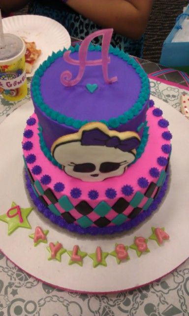 Monster High Cake Design
