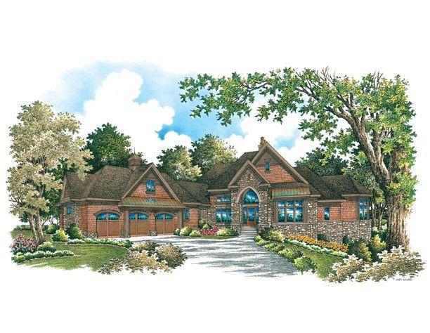1318 best images about planos de casas on pinterest for European manor house plans