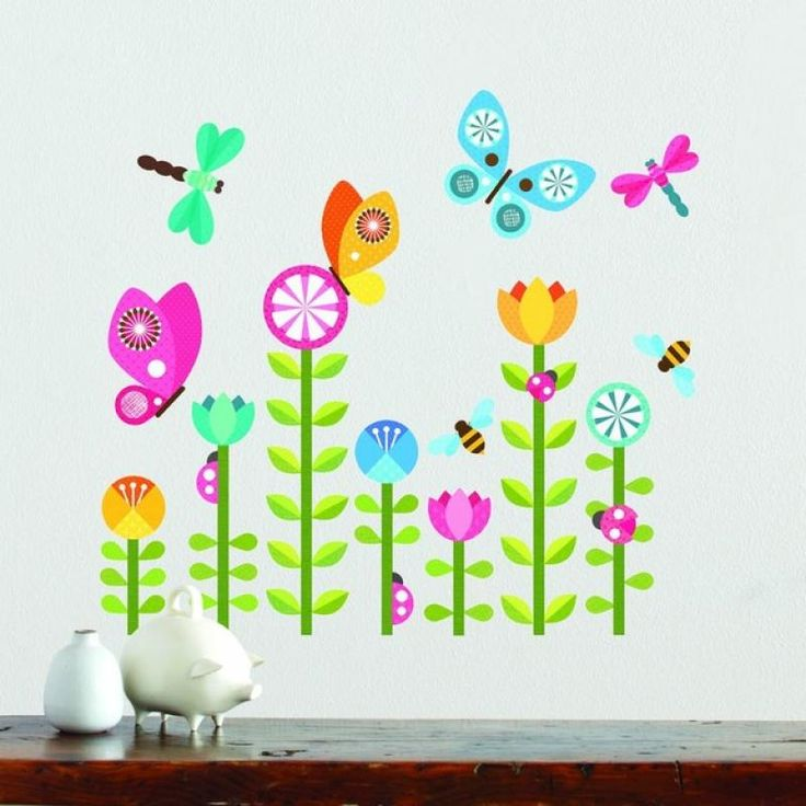 Butterflies Removable Wall Decal - Petit Collage for sale by Little Shop of Treasures. Other Petit Collage available now at LSOT.