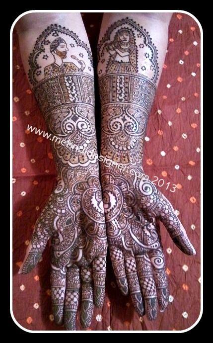 Another wonderful bride giving me artistic freedom mehendi by neeta sharma www.mehndidesigner.com