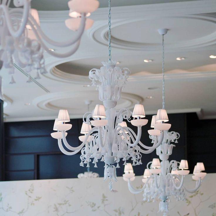 #Gordon Ramsay for the cuisine, @andromedamurano for the restaurant   #kitchen #luxury #chandelier #decor #architecture #light #lampadari #murano