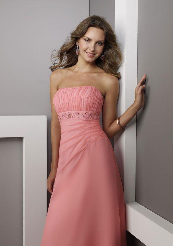 Mejores 211 imágenes de Vestidos de madrina en Pinterest | Vestido ...