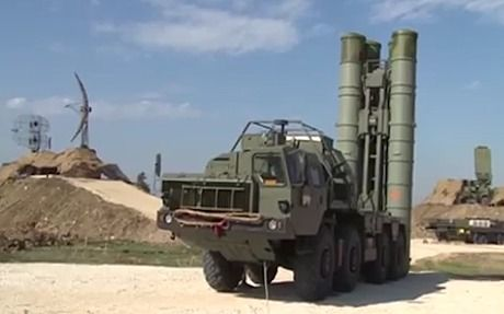 s-400 anti-aircraft missiles arrive in Syria
