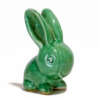I adore this little Denby cottontail rabbit.