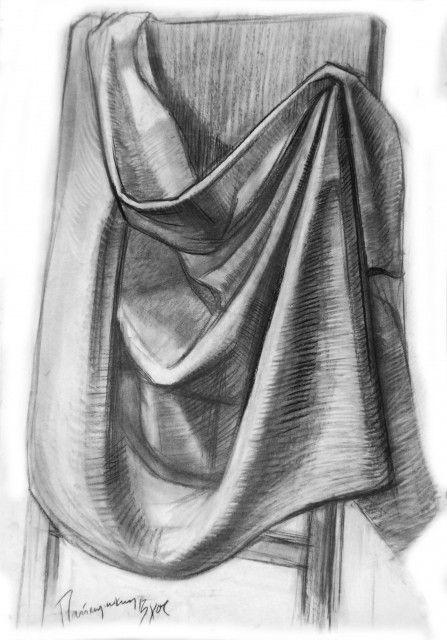 рисунок ткани карандашом - Поиск в Google