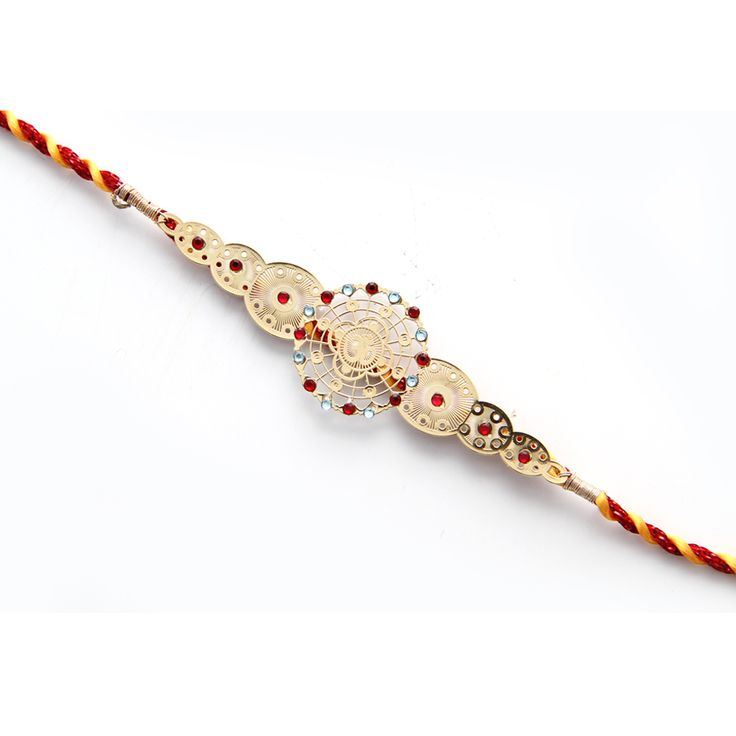 24 carat gold plated Rakhi with OM visit @ http://www.diviniti.co.in