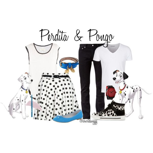 """""""Perdita and Pongo"""" by courtdawggg on Polyvore"""