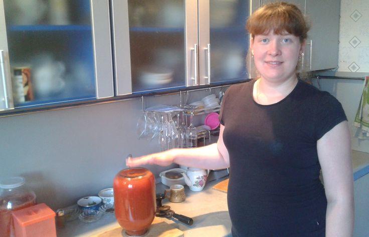 Томатный сок по домашнему