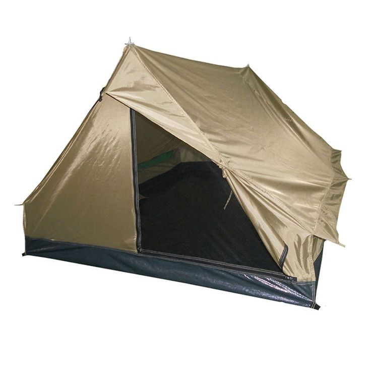 Mil-Tec Mini Pack Standard Two Man Tent Coyote * Startling review available here  : Hiking tents