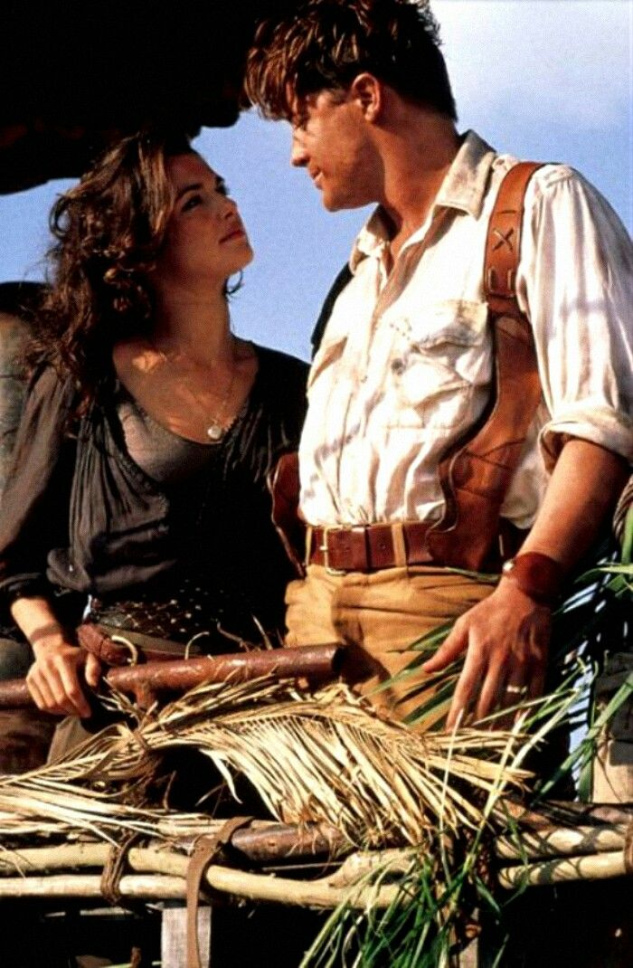 Evelyn and Rick #TheMummy