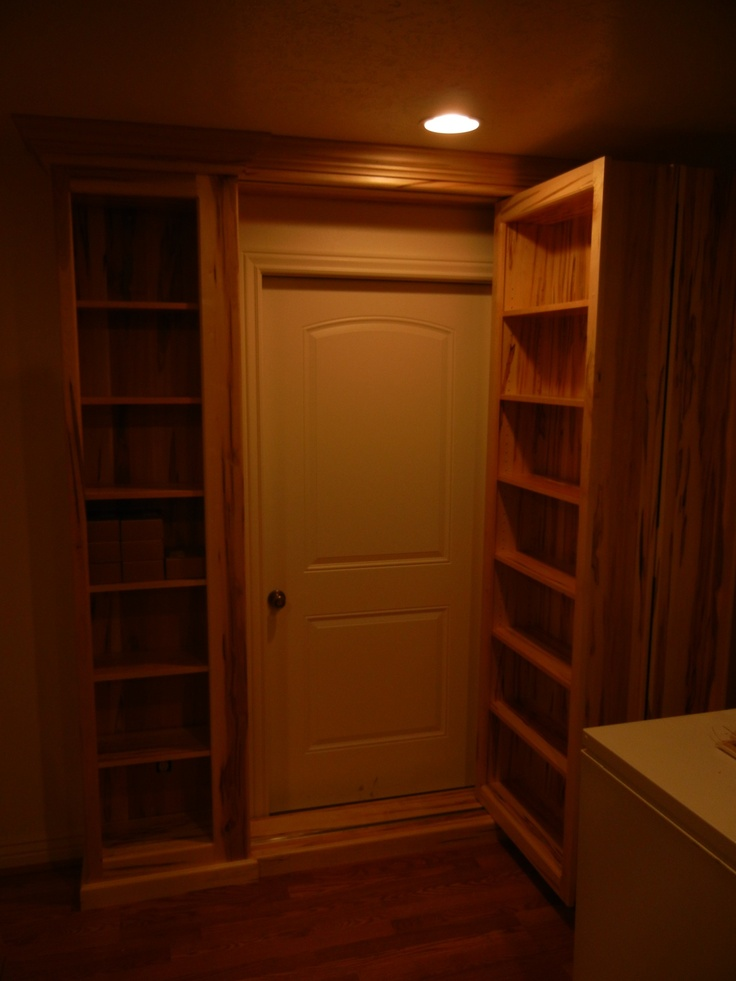 High Quality A Beautiful Secret Passage Built By One Of Our DIY Customers Using The  Patented Murphy Door