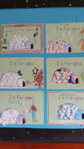 Grade R's very creative igloos