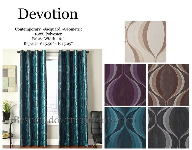 Devotion Curtain Drapery Panels