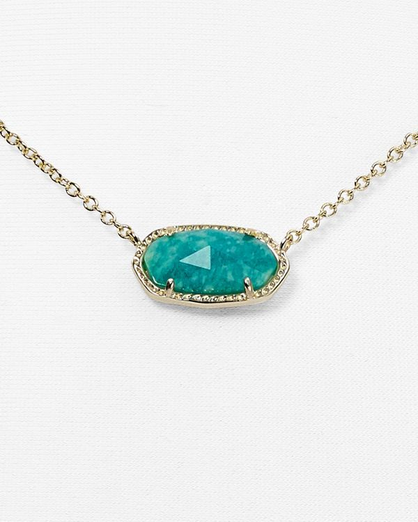 Kendra Scott Elisa Amazonite Necklace, 15"