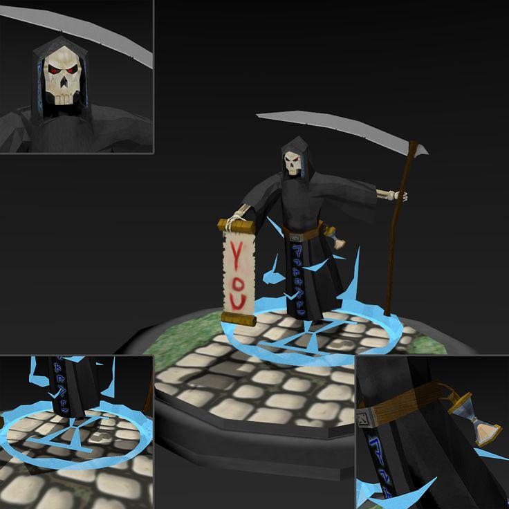 Death by NAkos.deviantart.com on @deviantART  Also on Sketchfab: https://sketchfab.com/models/08bb750cb576412d9be95994741ac0bb