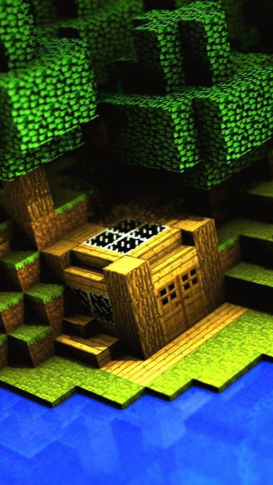 #Minecraft this is so sweet! Just proves that you don't have to make massive builds for them to be cool!