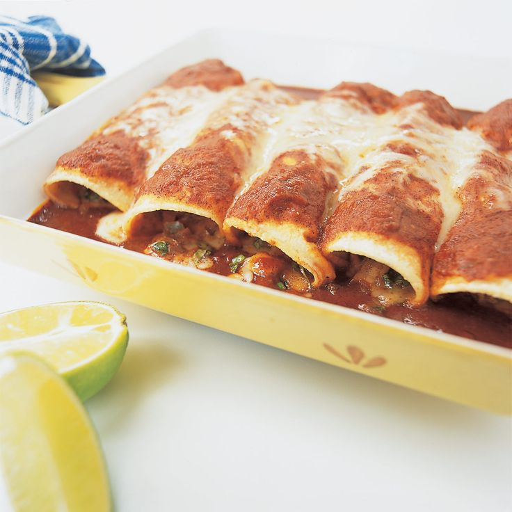 Mexican cooking is notoriously time-consuming but delivers rich, deep flavors. Could we produce a reasonably authentic chicken enchilada with far less work?